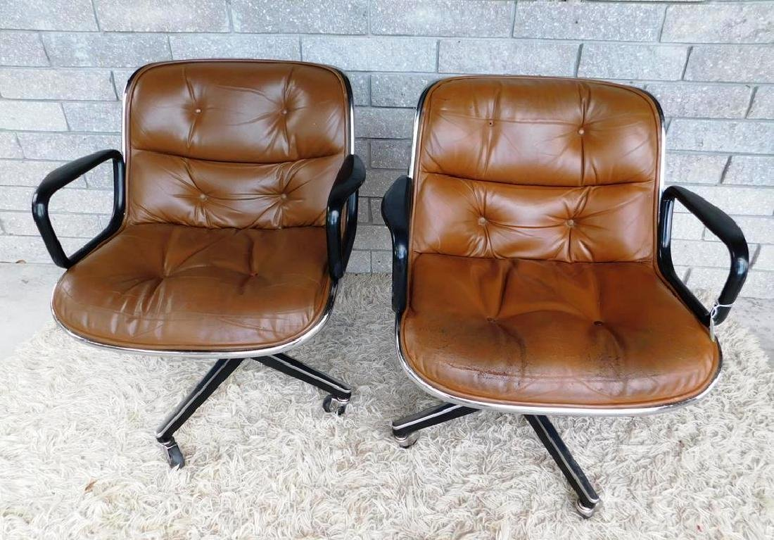 PAIR OF KNOLL OFFICE CHAIRS