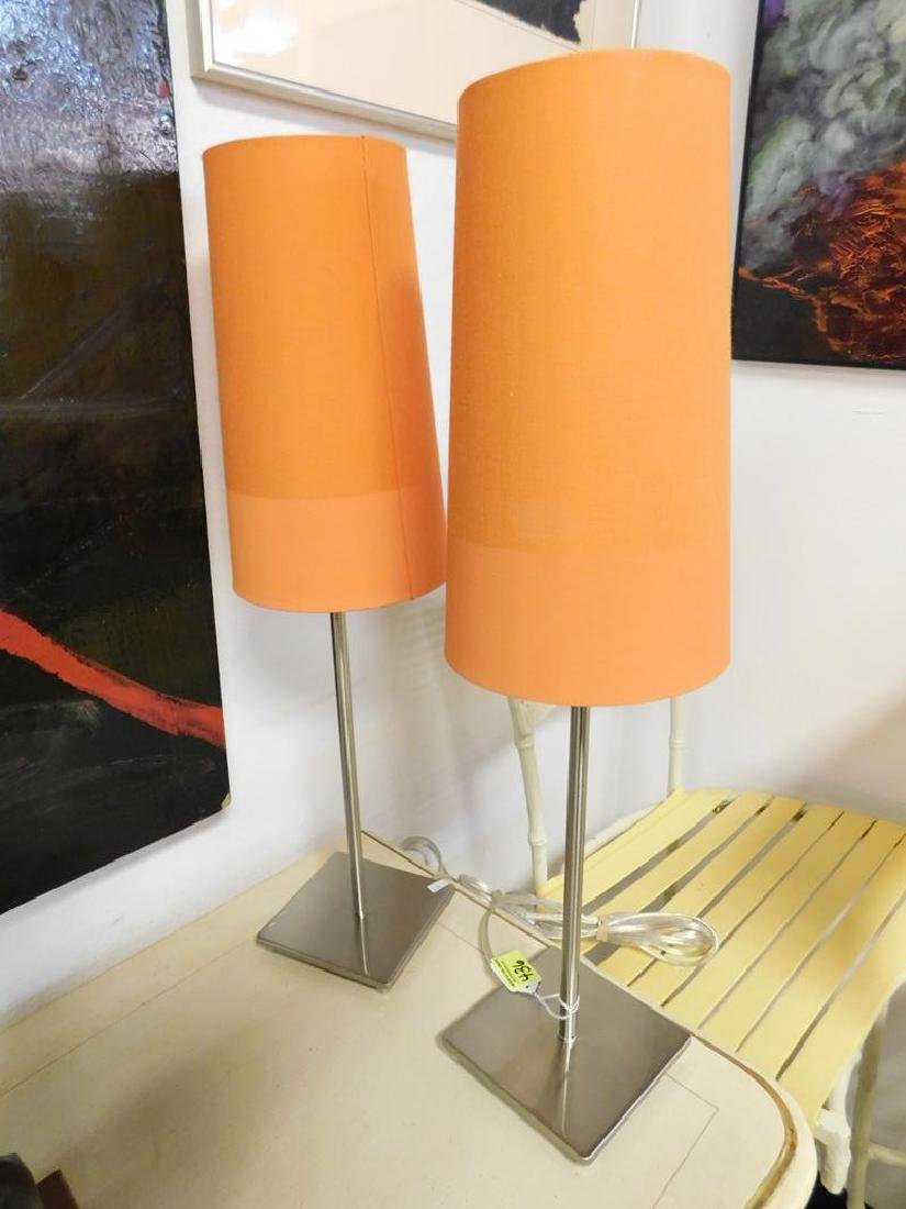 2 IKEA TABLE LAMPS