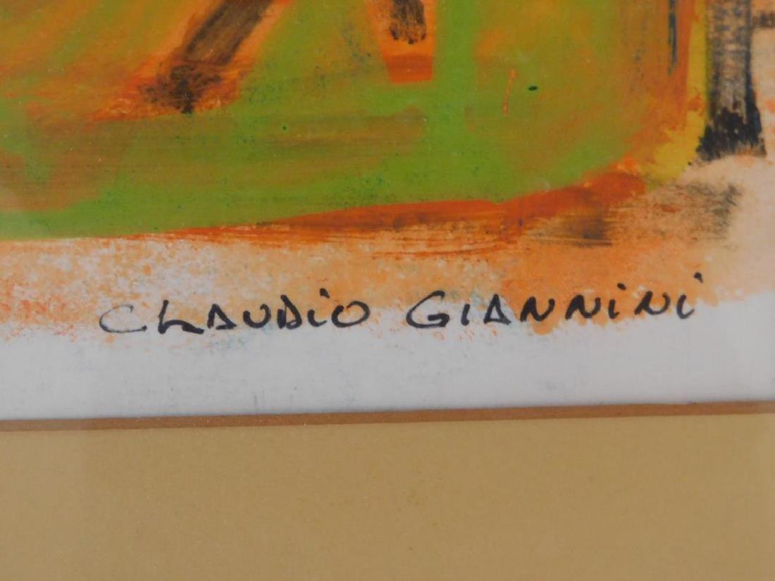 "CLAUDIO GIANNINI ""METAPULL"" PAINTING - 2"
