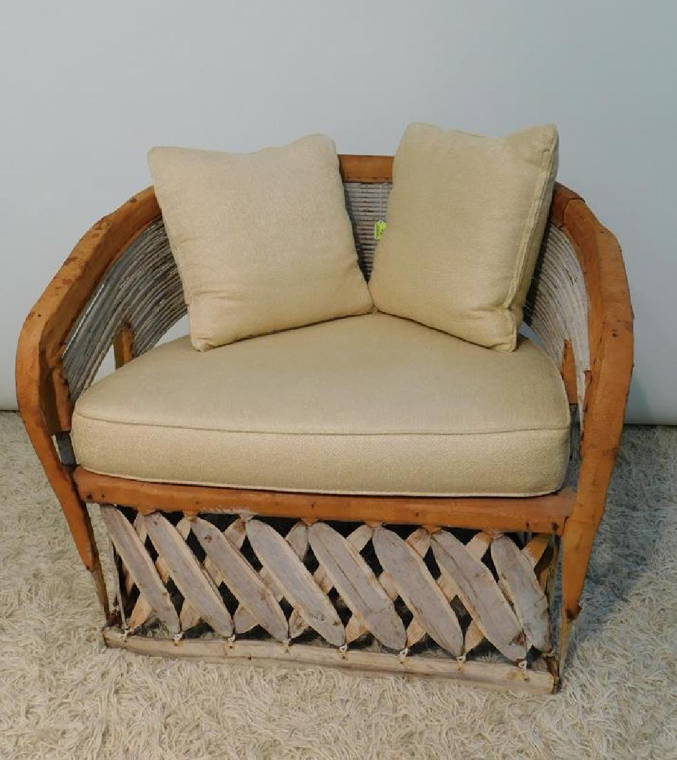 MEXICAN EQUIPALE MESQUITE CHAIR