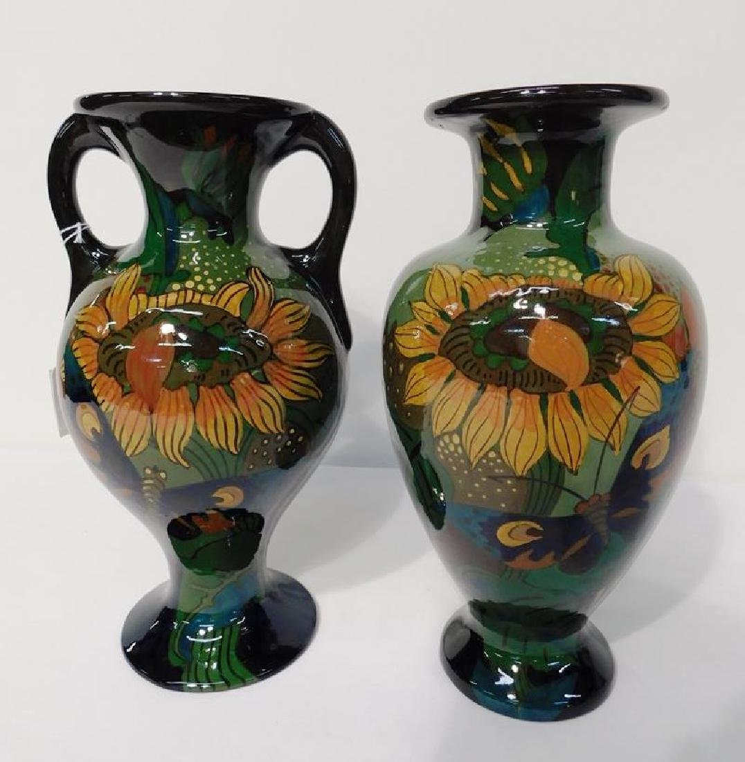 GOUDA POTTERY URNS