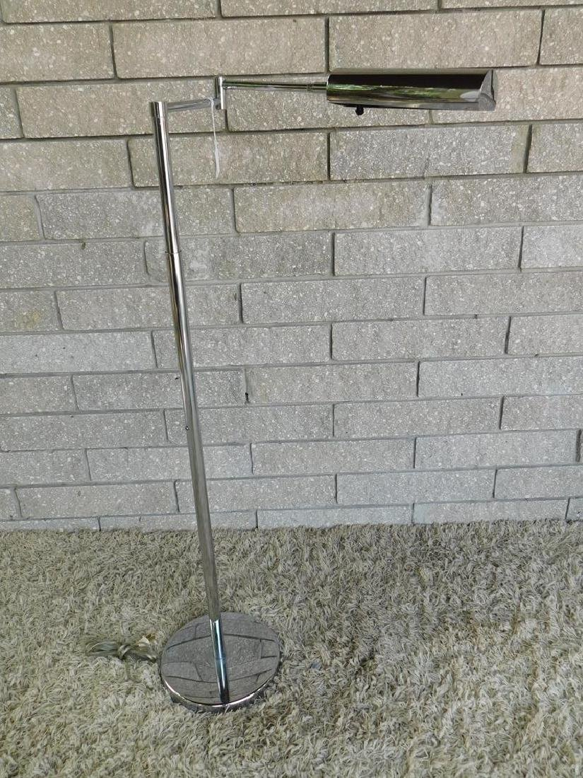 KOCH LOWY CHROME FLOOR STANDING LAMP