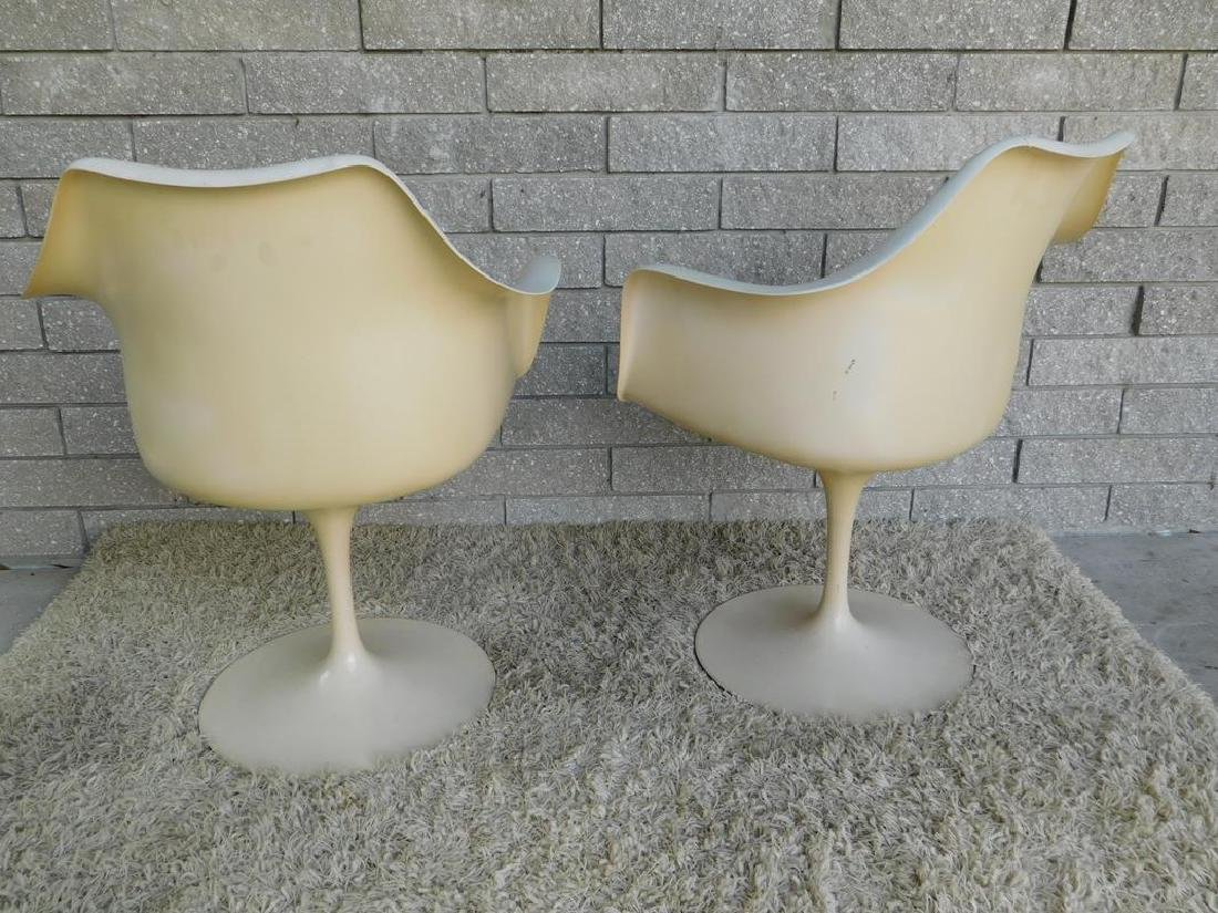 PAIR OF KNOLL TULIP CHAIRS - 2