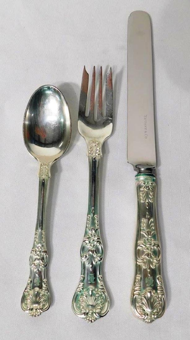 ENGLISH KING BY TIFFANY & CO. STERLING SILVER FLATWARE - 2