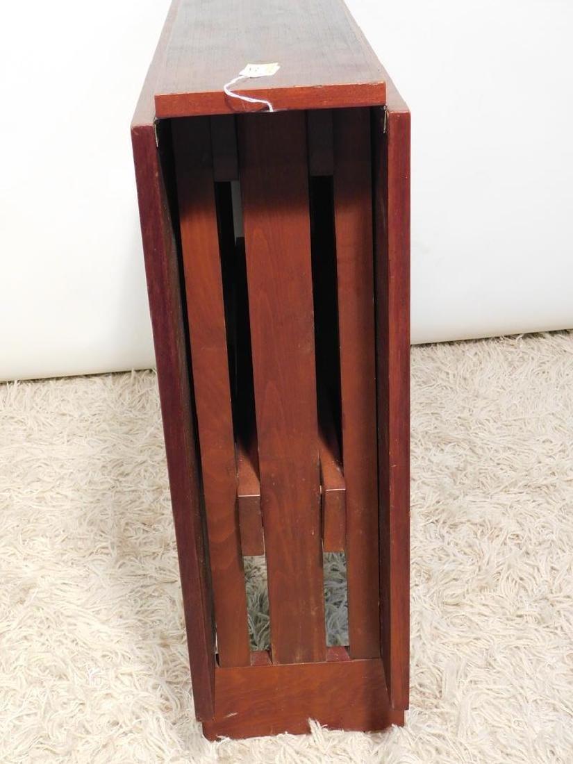VINTAGE DROP SIDE TRESSLE TABLE - 2