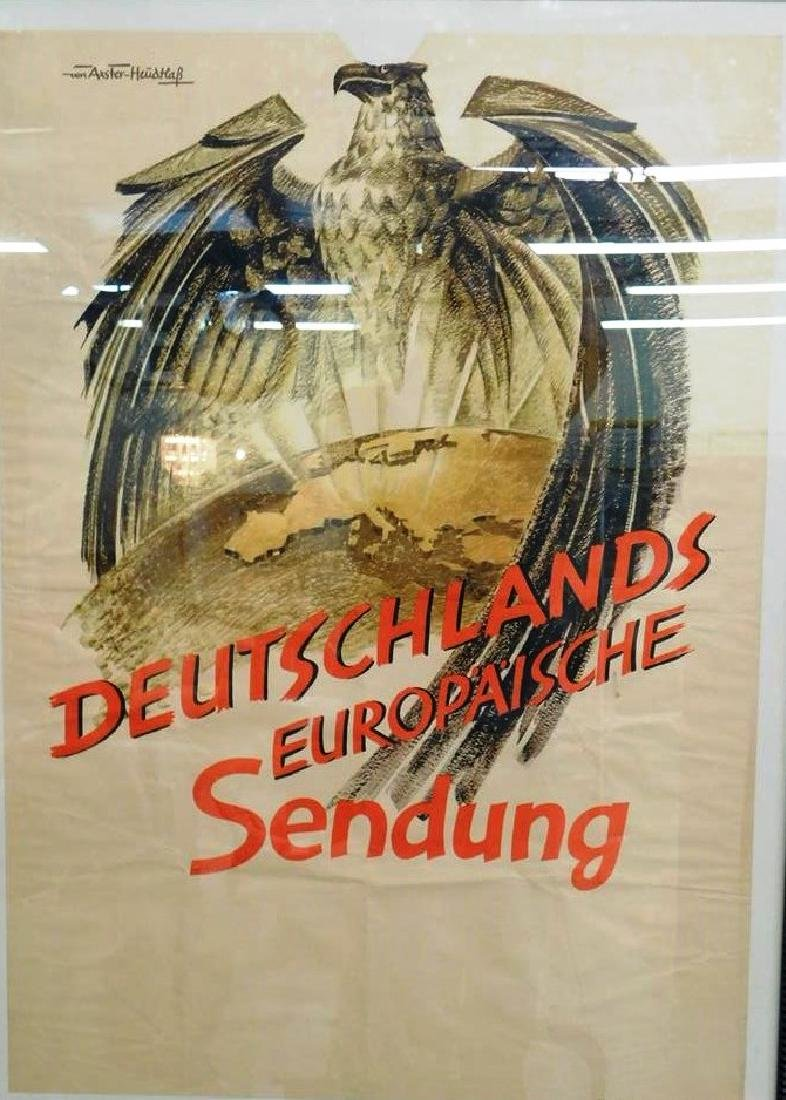 NAZI ERA GERMAN MILITARY - PROPAGANDA POSTER