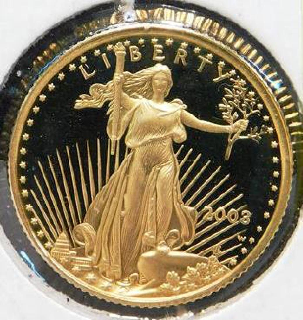 2003-W U.S. $5 GOLD PROOF COIN
