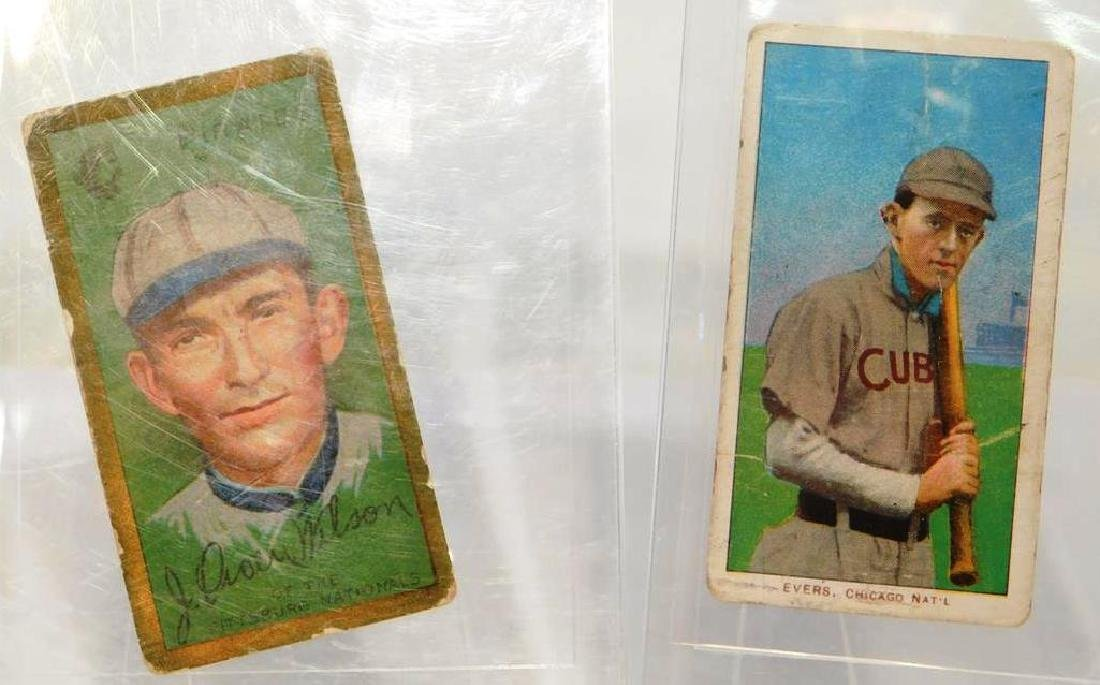 PAIR OF EARLY BASEBALL TOBACCO CARDS