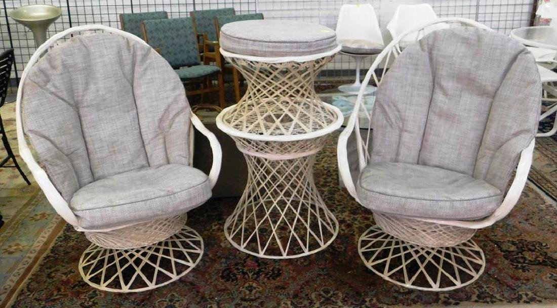4 PC. WOODARD PATIO SET