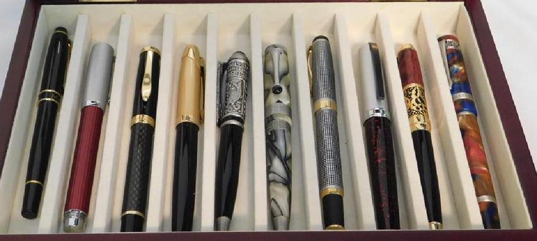 COLLECTION OF FINE WRITING PENS INCL. MONTEFIORE