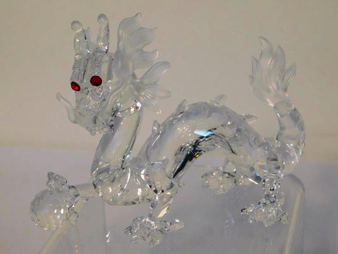 "SWAROVSKI "" FABULOUS CREATURES"" DRAGON, 1997"