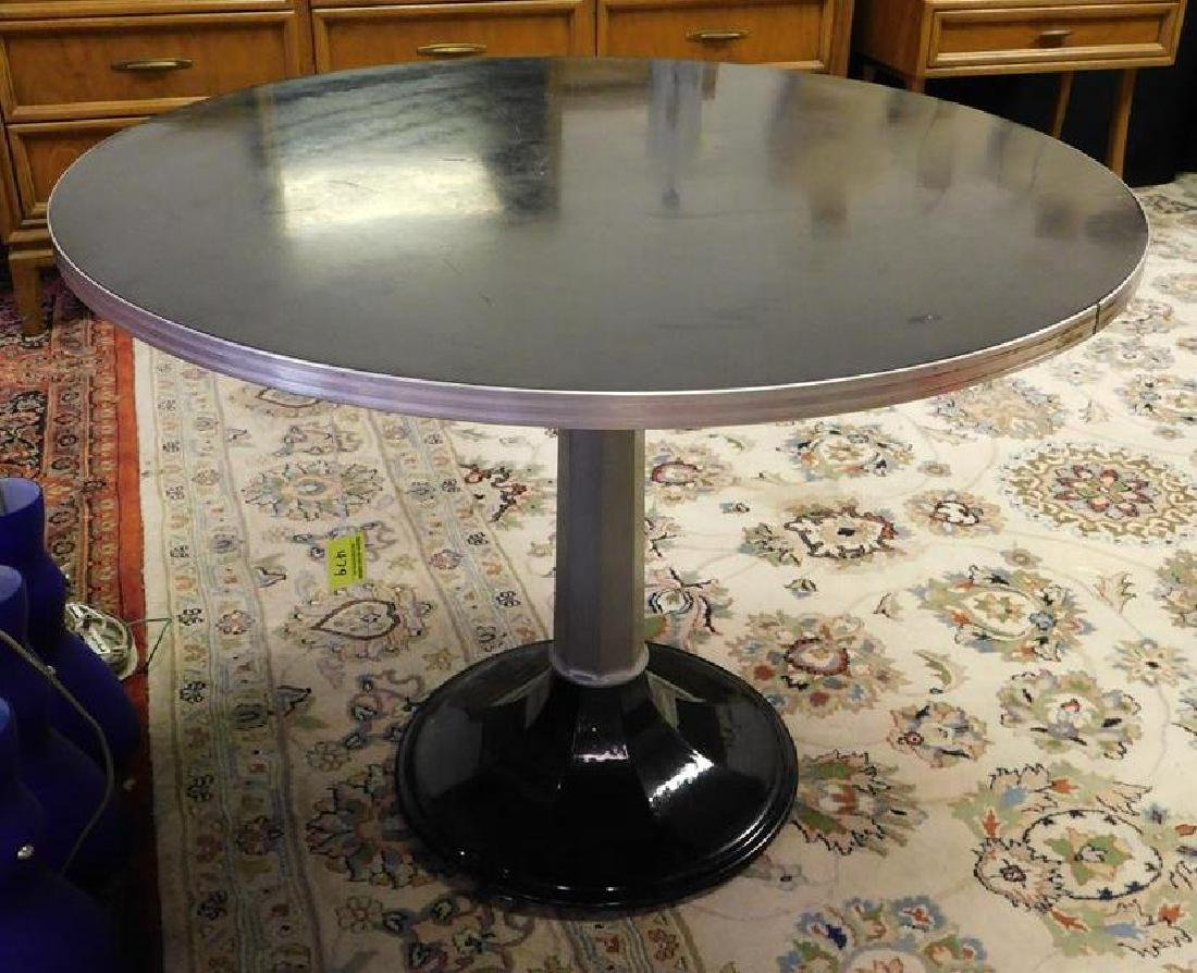 IRON BASE WITH MICA TOP DINING TABLE
