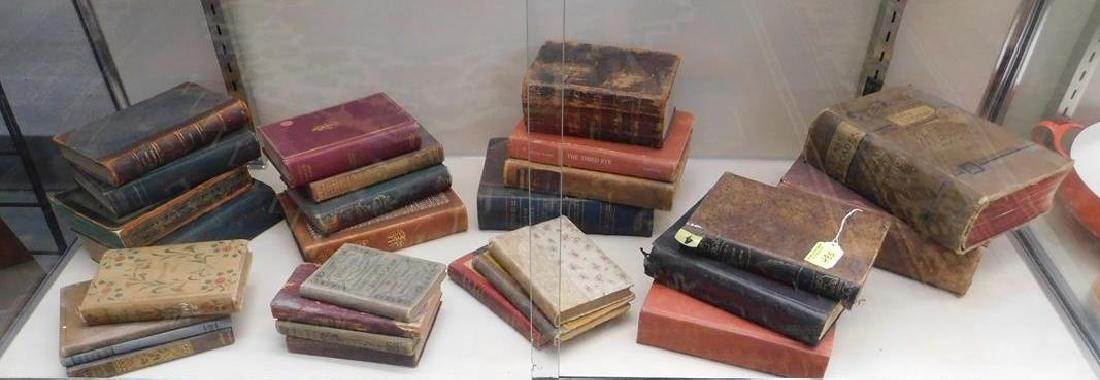 COLLECTION OF ANTIQUE BOOKS