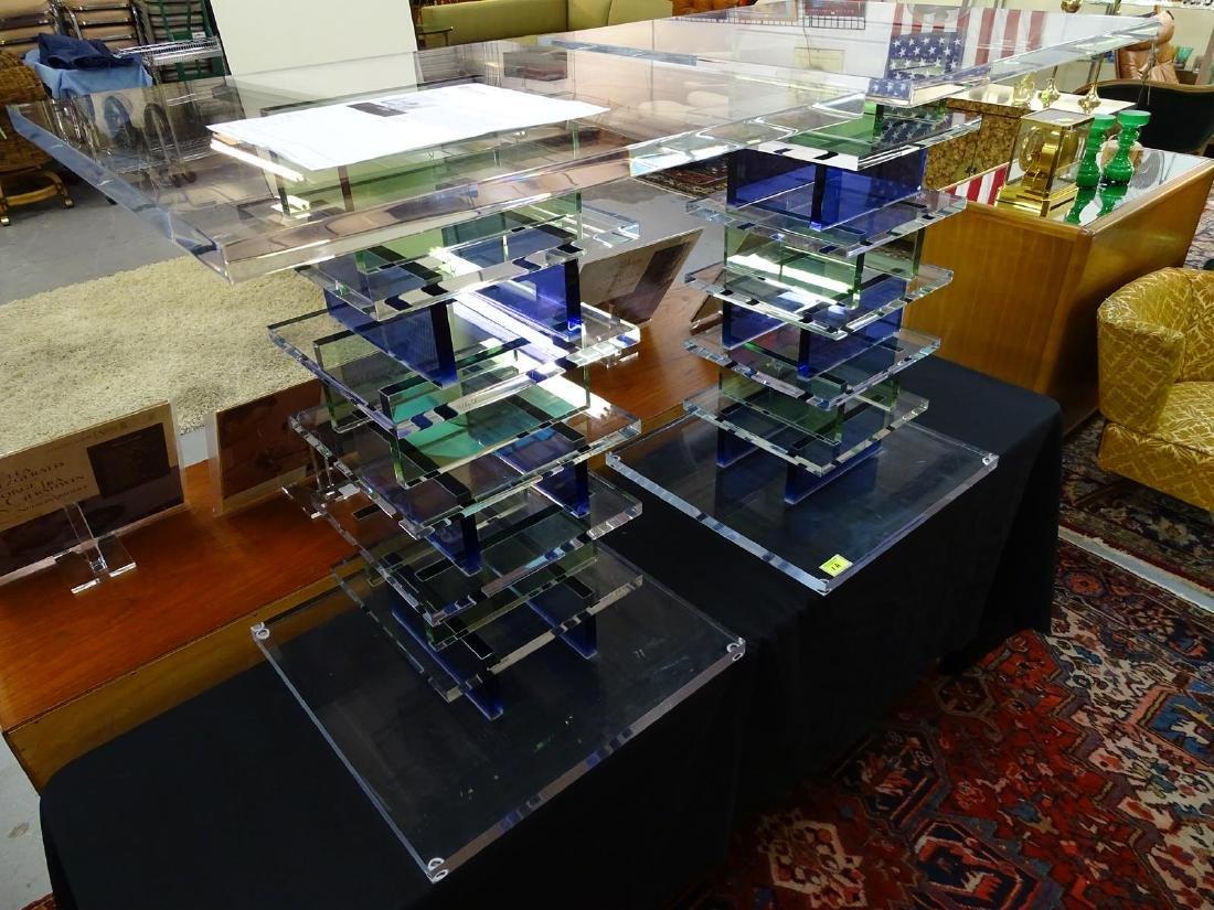 HAZIZA ACRYLIC SIDE TABLES