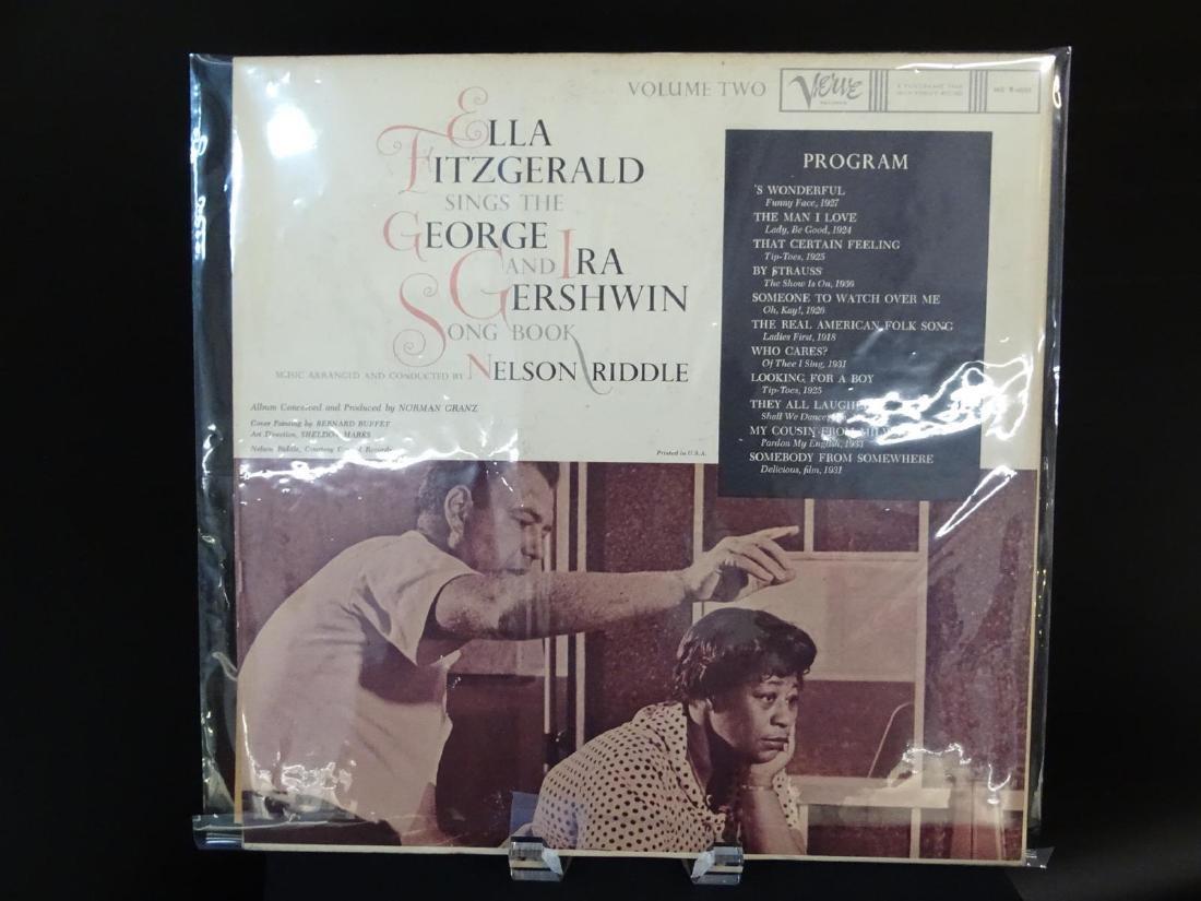 ELLA FITZGERALD LP - BERNARD BUFFET COVER DESIGNS - 2