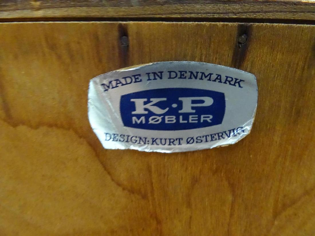 KURT OSTERVIG FOR K.P. MOBLER, DENMARK TEAK BAR CABINET - 3
