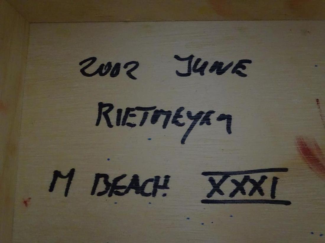"""RENE RIETMEYER """"MIAMI BEACH"""" ART - 3"""