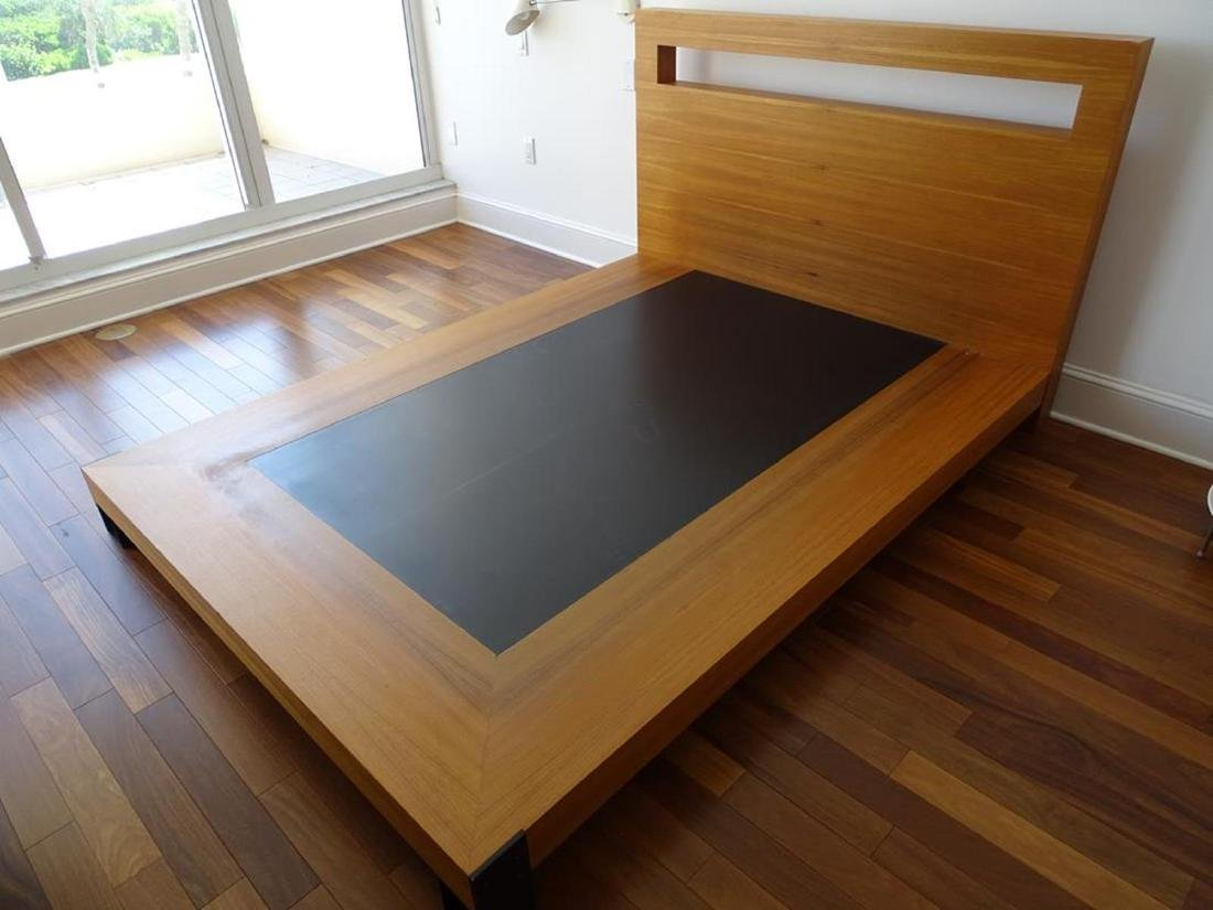 ANTOINE PROULX BD-75 BED WITH CUT-OUT - 2
