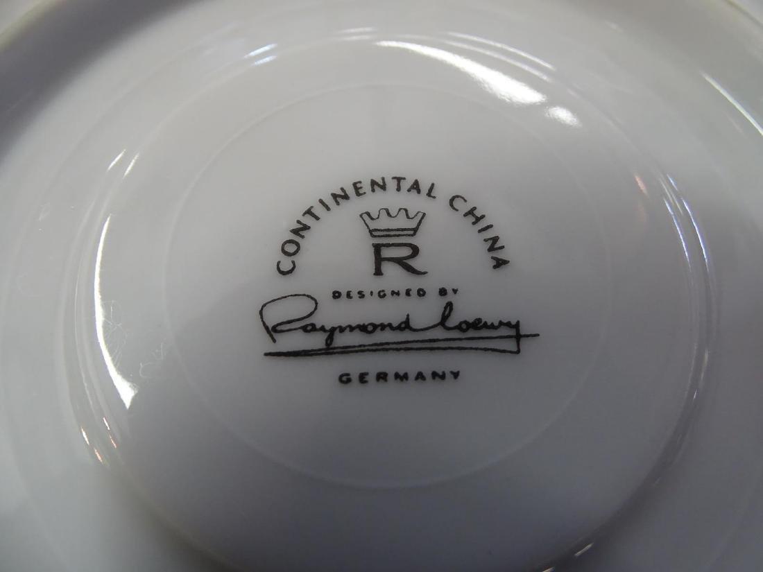 """RAYMOND LOEWY FOR ROSENTHAL """"RHYTHM"""" DINNERWARE - 2"""