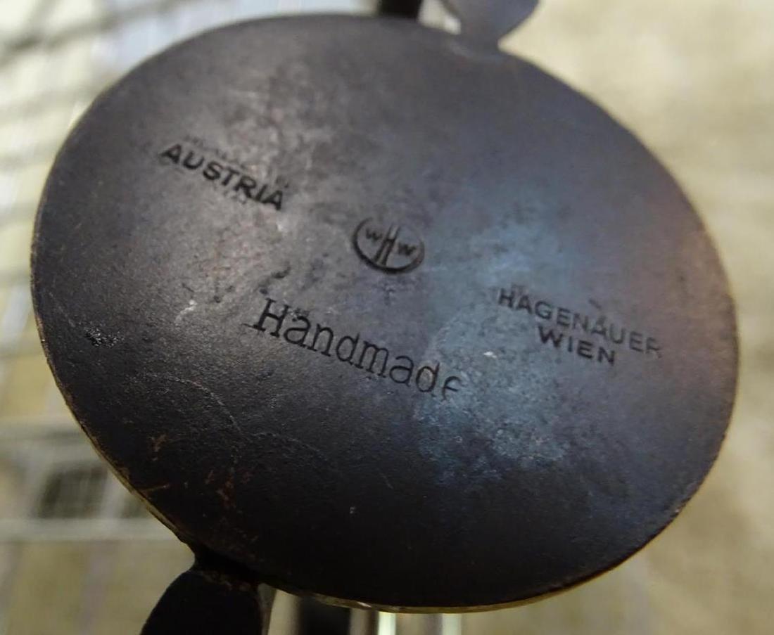 HAGENAUER - AUSTRIA, BRONZE FIGURE OF AFRICAN WARRIOR - 3