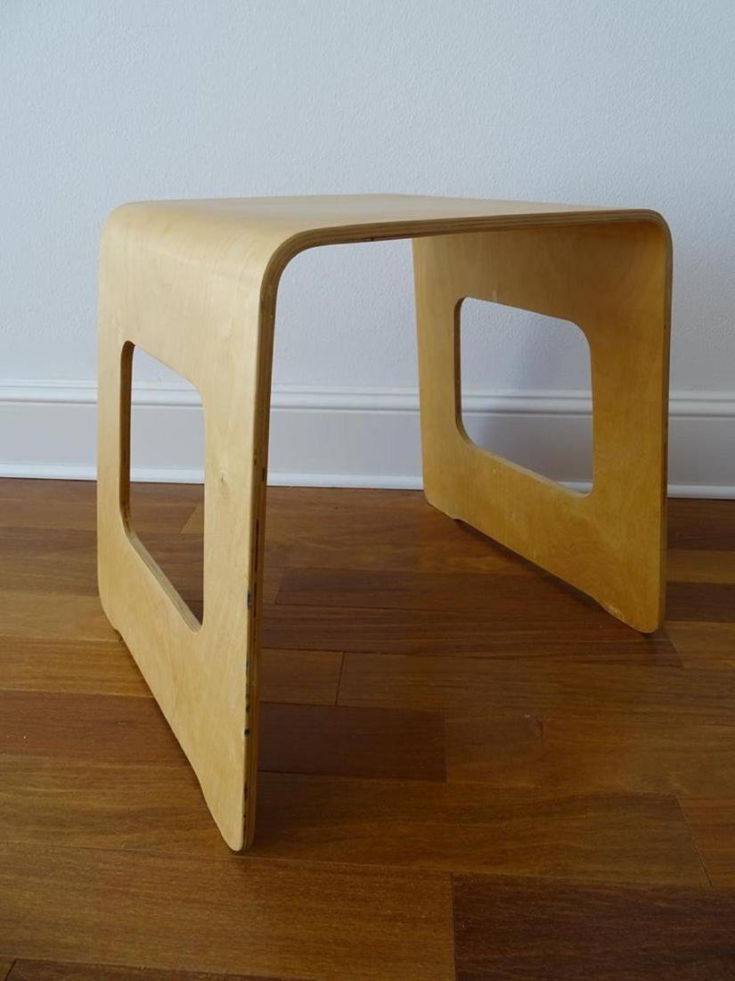BENT-PLY SIDE TABLE