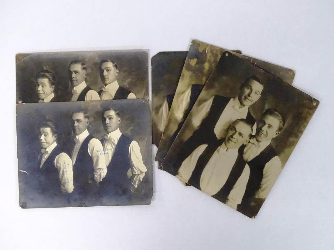 LE CLAIRE TRIO AND LIND BROS. ORIGINAL PHOTOGRAPHS