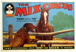 TOM MIX CIRCUS - TONY AND QUEEN