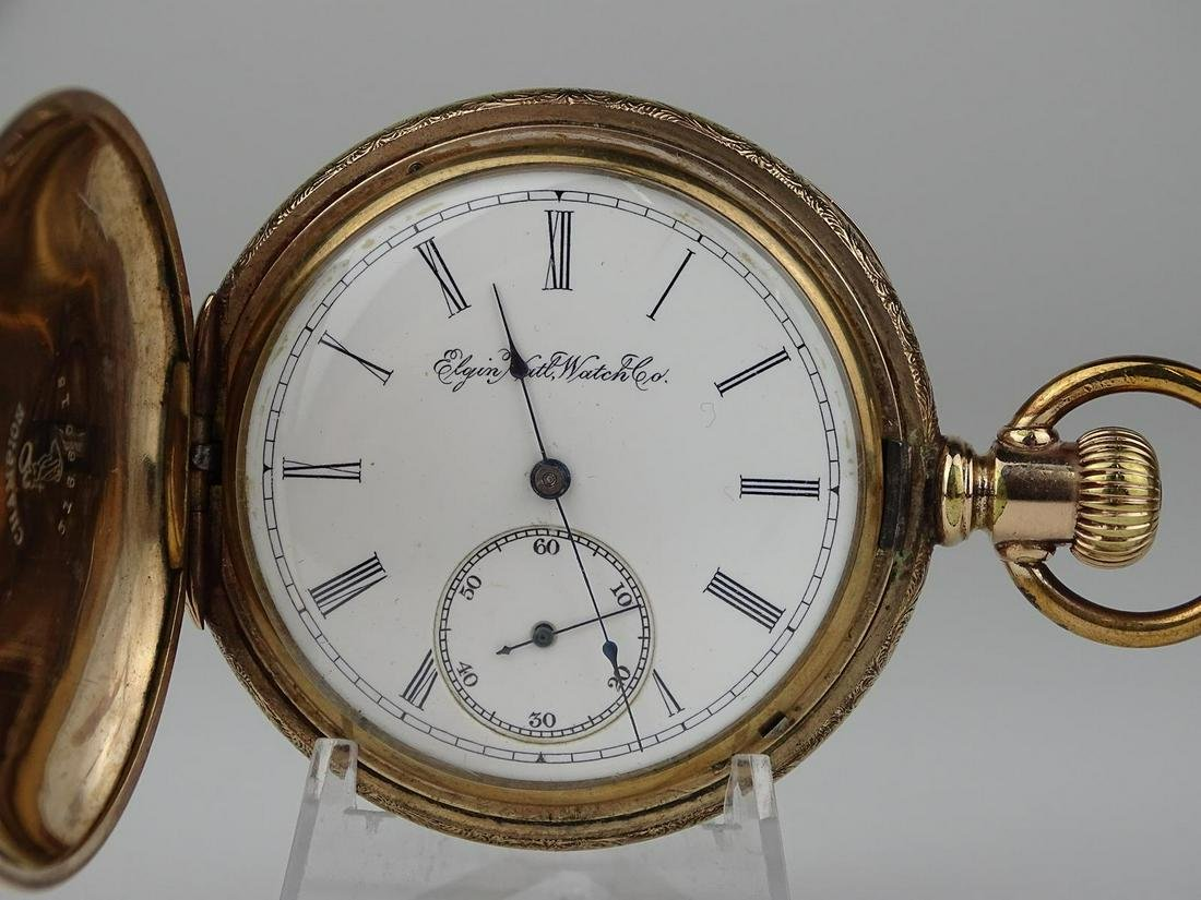 1896 ELGIN WATCH CO. POCKETWATCH
