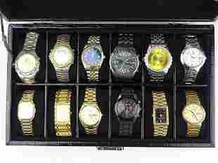 COLLECTION OF MEN'S WATCHES