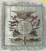 WWII PERIOD U.S. ARMY AIR FORCES PILLOW COVER