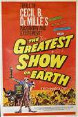 GREATEST SHOW ON EARTH FILM POSTER