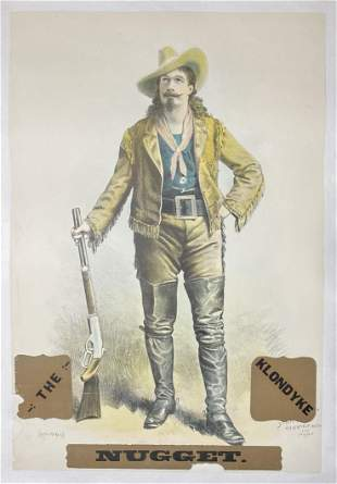 THE KLONDYKE NUGGET LITHOGRAPH POSTER