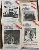 LOT OF CIRCUS REPORT MAGAZINES 1980S