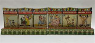 MARX TOYS TIN LITHO SIDESHOW BANNER LINE DISPLAY