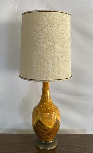 LARGE MID-CENTURY TABLE LAMP