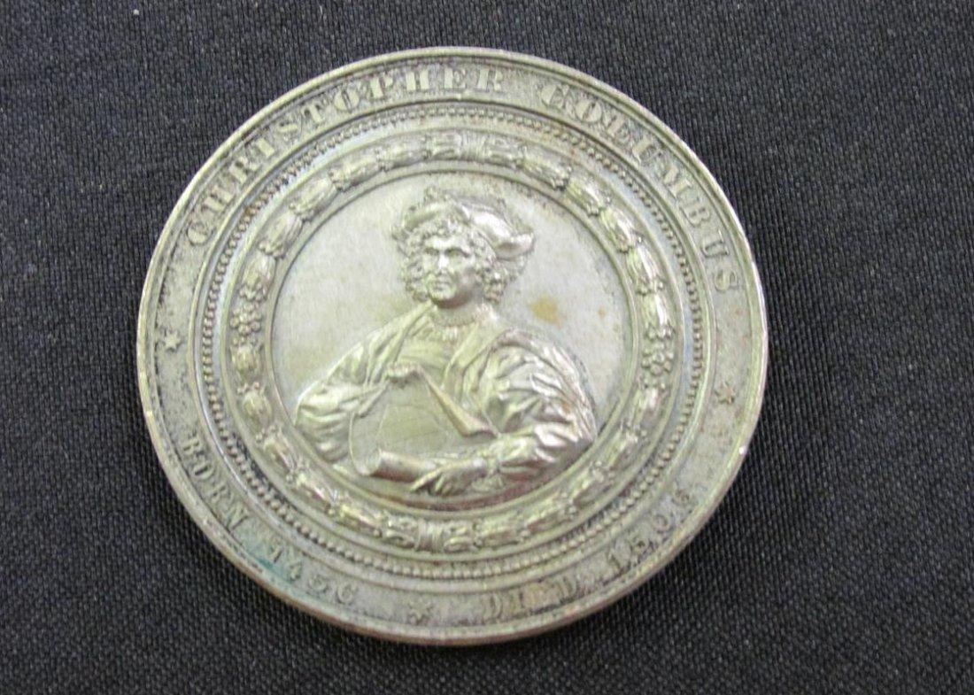 1892-3 COLUMBIAN EXPO COMMEMORATIVE MEDAL