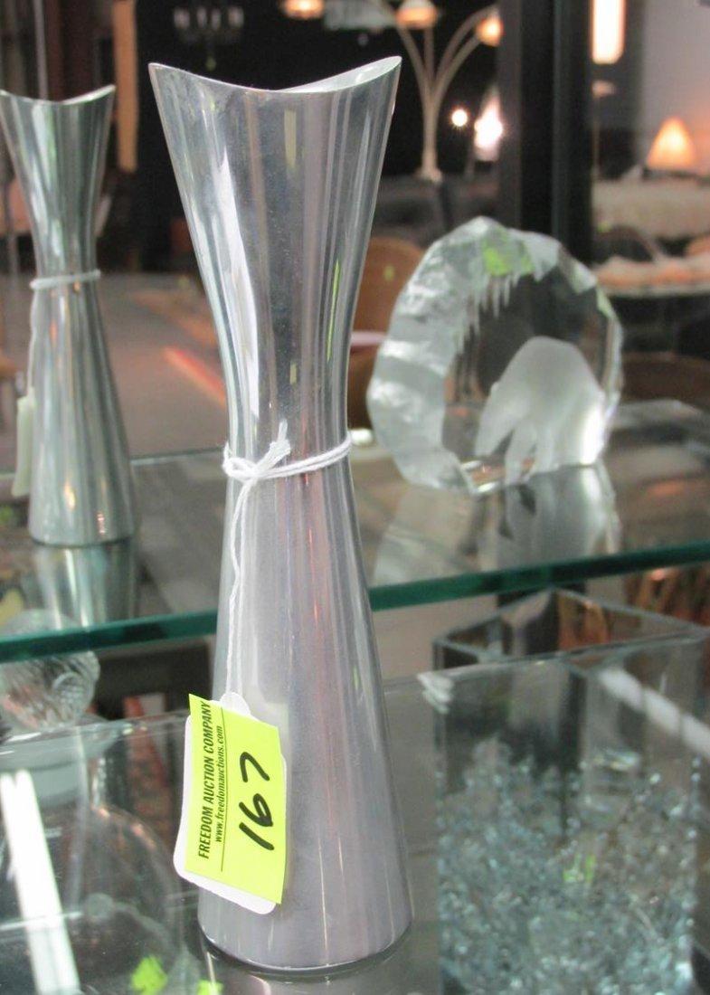 """Nambe studio bud vase, 7"""", #6076"""