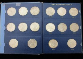 Peace Dollar Complete Book, 1921-1935