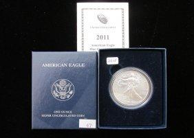 2011-w American Silver Eagle, Ogp