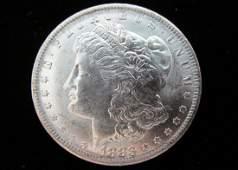 1883O MORGAN SILVER DOLLAR UNCIRCULATED