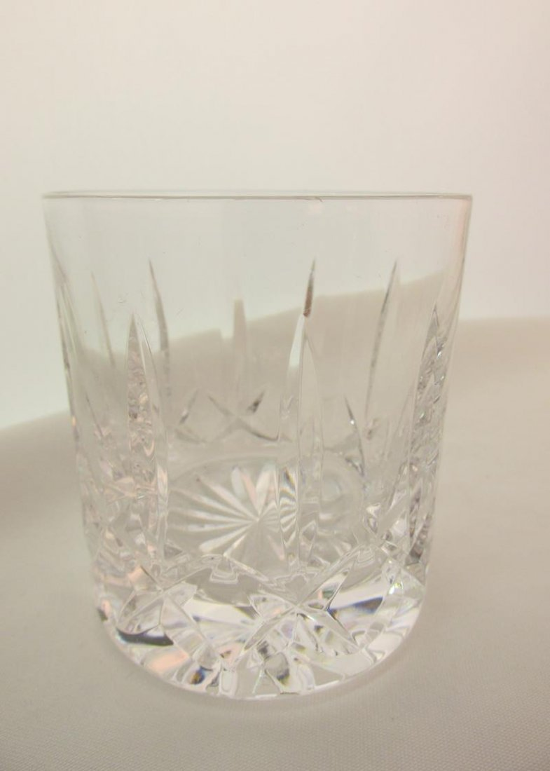 WATERFORD CRYSTAL DECANTER WITH ATLANTIS ROCKS GLASSES - 2