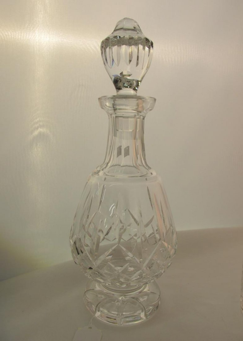 WATERFORD CRYSTAL DECANTER WITH ATLANTIS ROCKS GLASSES - 3