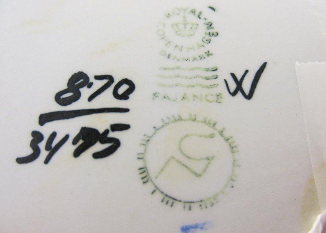 NILS THORSSON FOR ROYAL COPENHAGEN BATIK-LIKE DESIGN - 2