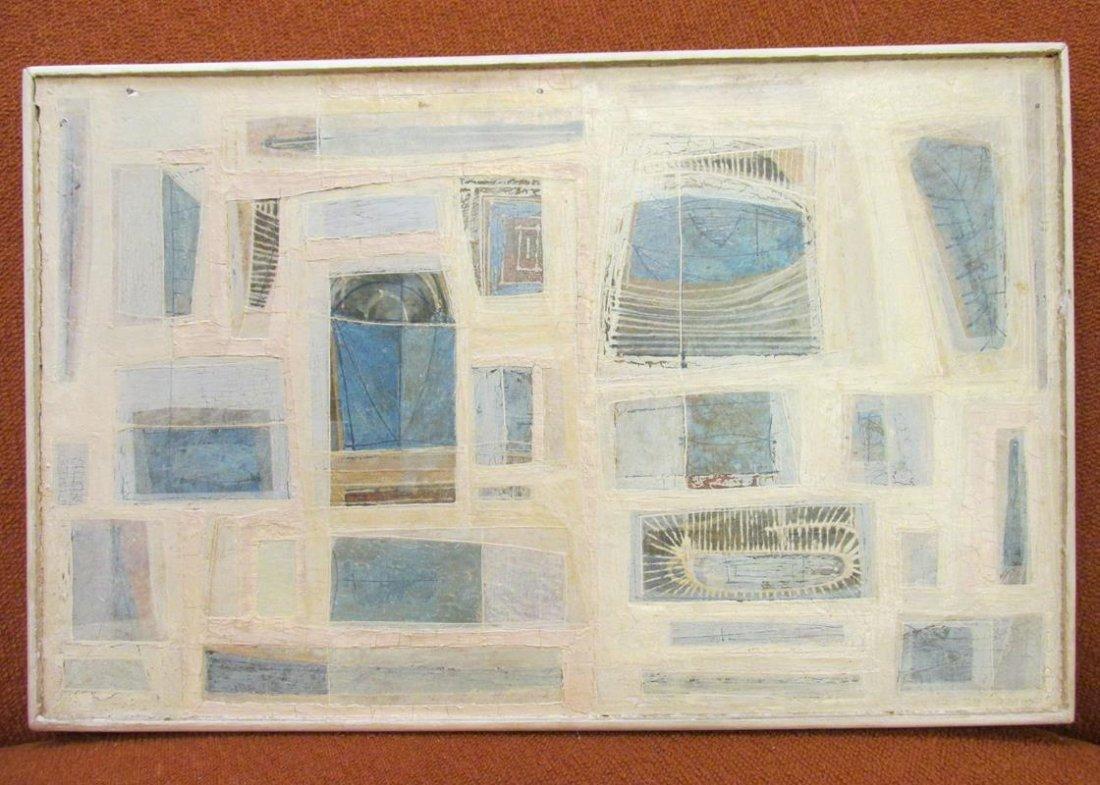 DUNCAN STUART, 1958, ART ON BOARD