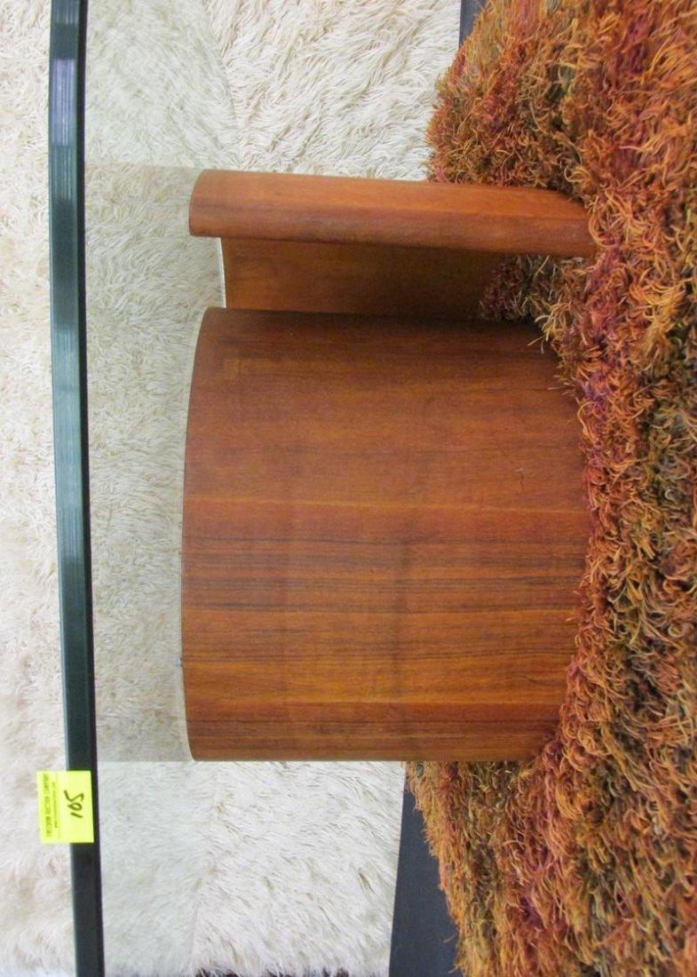 VLADIMIR KAGAN (ATTR.) SNAIL COFFEE TABLE, WALNUT - 2