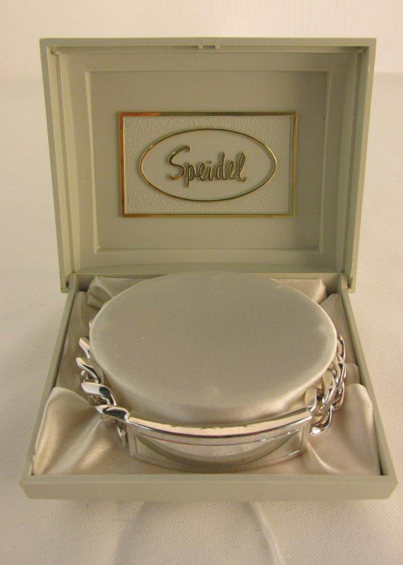 SPEIDEL ID BRACELET, ORIGINAL IN BOX
