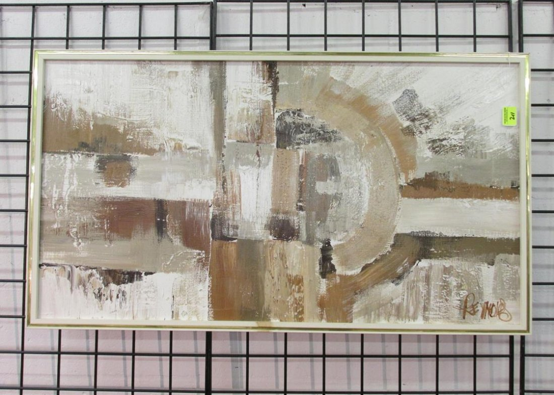 LEE REYNOLDS ABSTRACT CANVAS ART