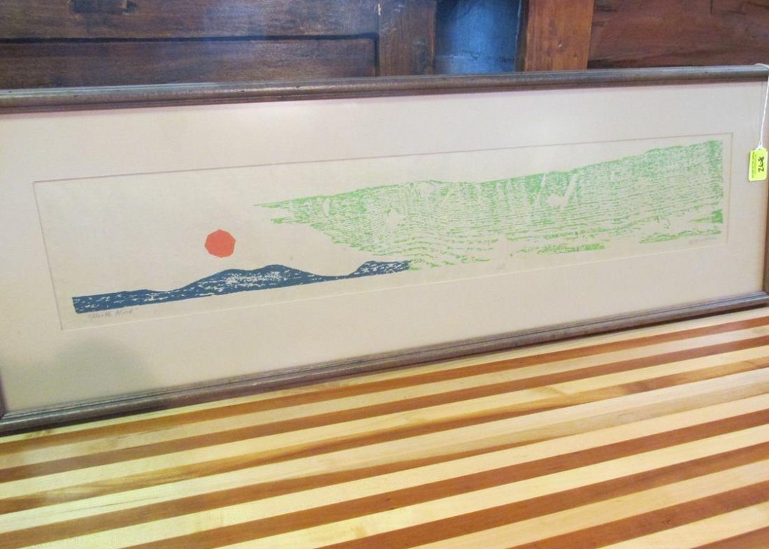 """EJAY VIORINE """"NORTH WIND"""", SIGNED/NUMBERED 5/7"""