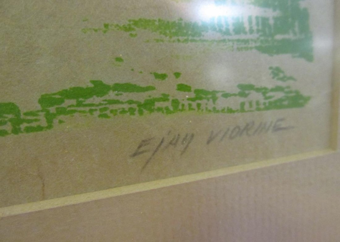 """EJAY VIORINE """"NORTH WIND"""", SIGNED/NUMBERED 5/7 - 2"""