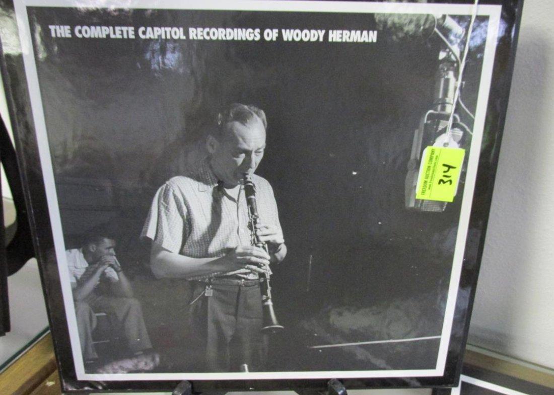 WOODY HERMAN, COMPLETE CAPITOL RECORDINGS